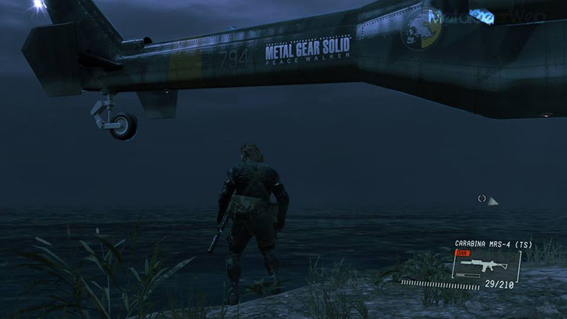 Mgsv Elicottero : Metalgearweb easter eggs di metal gear solid v